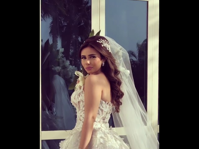 A beautiful bride on her way to start a beautiful life