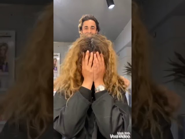 Let your hair do the talking