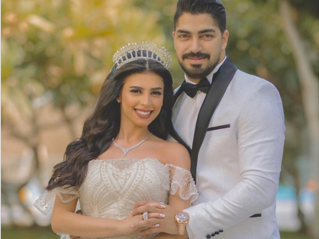 A million congratulations to mina atta and his beautiful wife on their wedding.